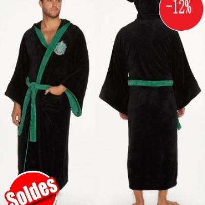 Peignoir serpentard harry potter soldes
