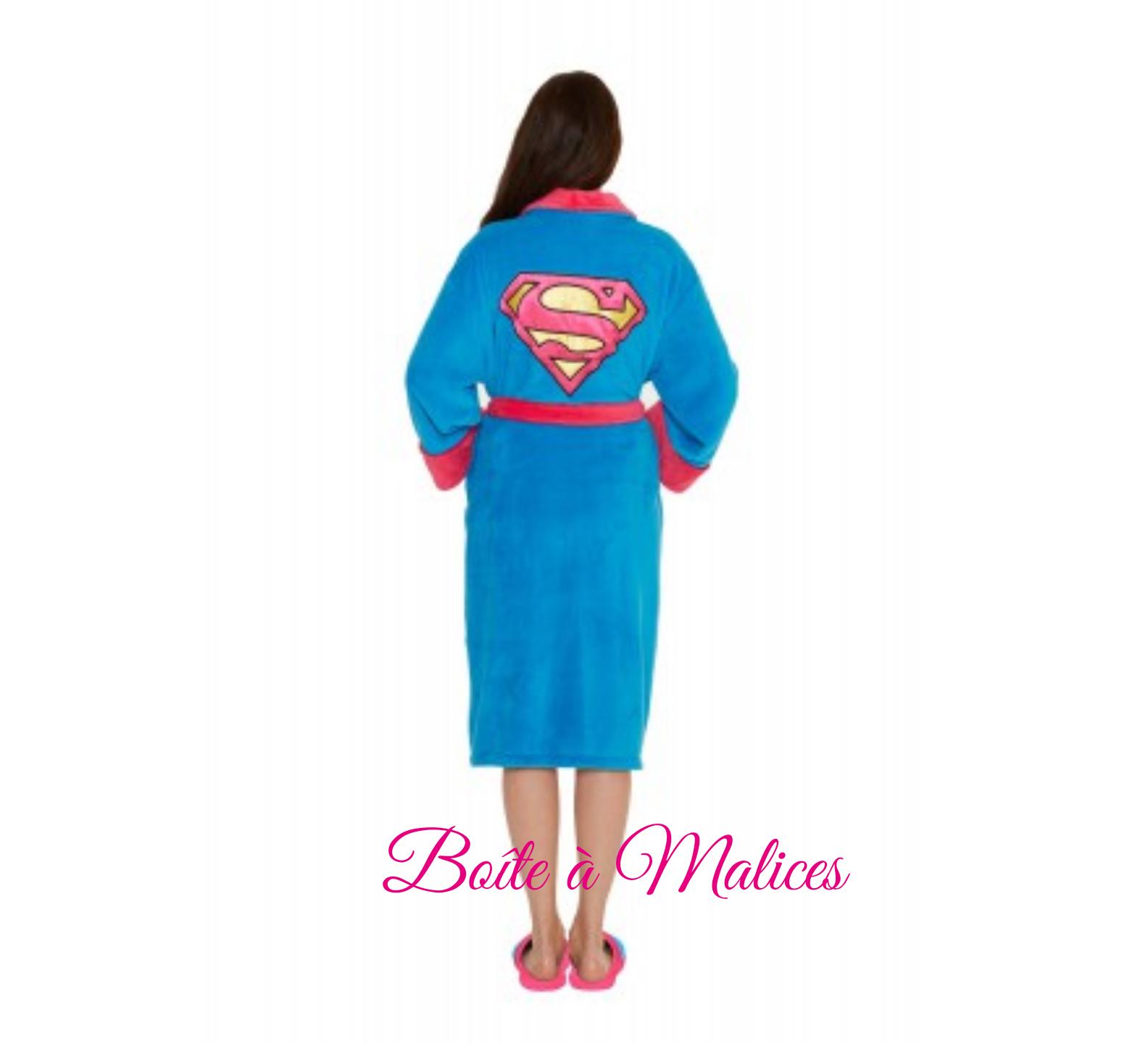Peignoir super girl