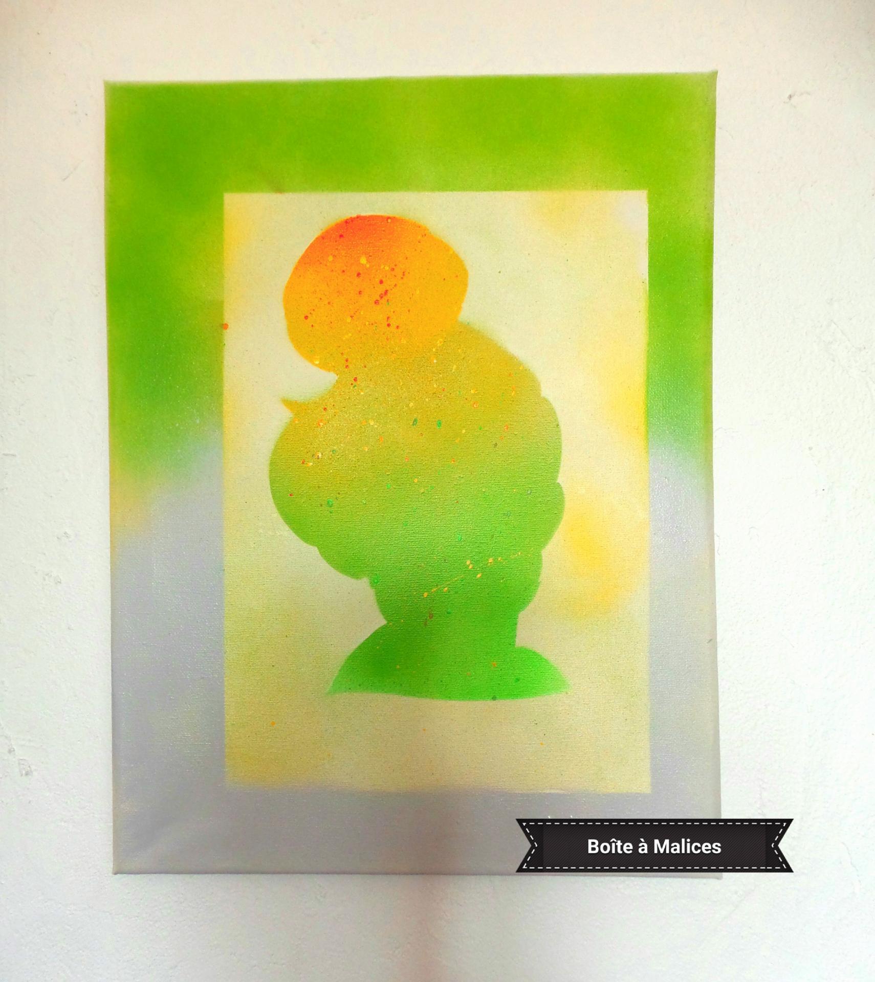 Peinture clochette 1
