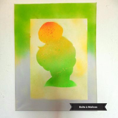 Peinture clochette