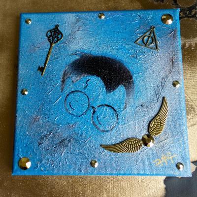Peinture harry potter m