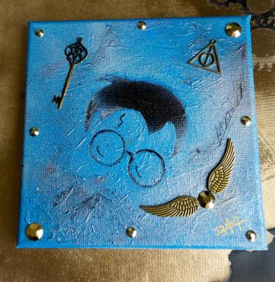 Peinture harry potter m