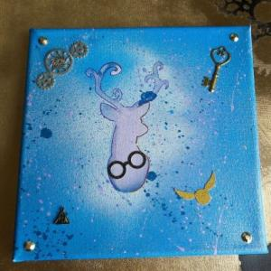 Peinture patronus harry potter n