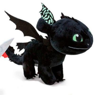Peluche dragon 3 krokmou