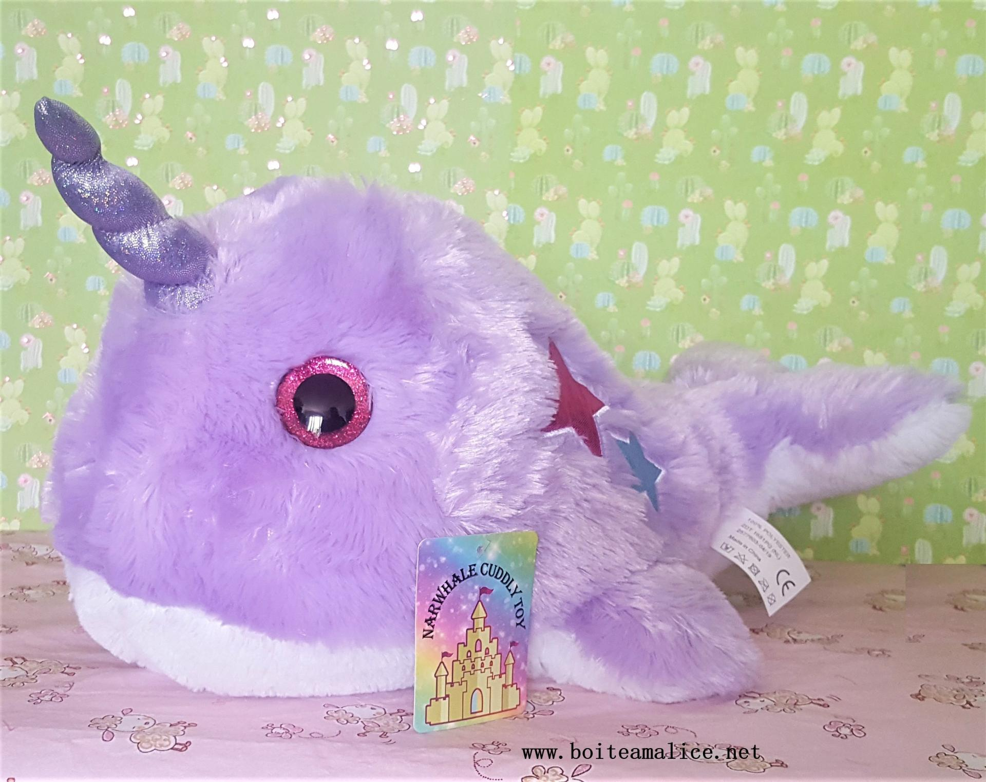 Peluche narval 1