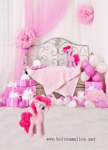 Peluche pinkie pie my little pony
