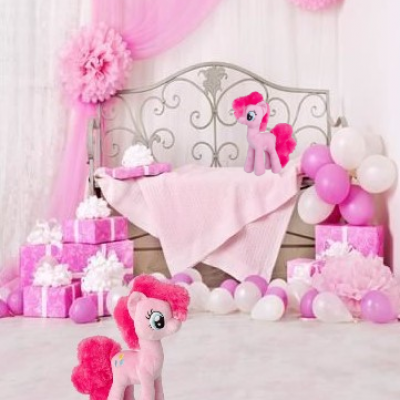 Peluche pinkie pie my little pony