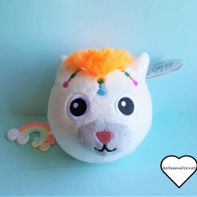 Peluche squichie chat