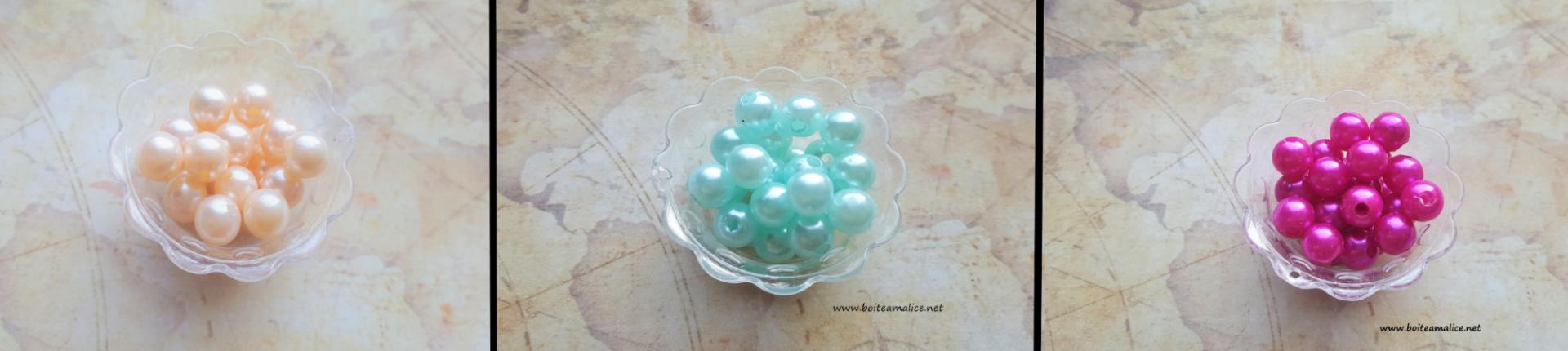 Perles acryliques