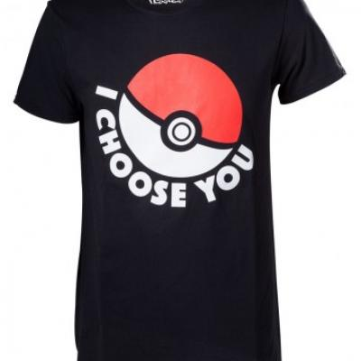 Pokemon t shirt i choose you