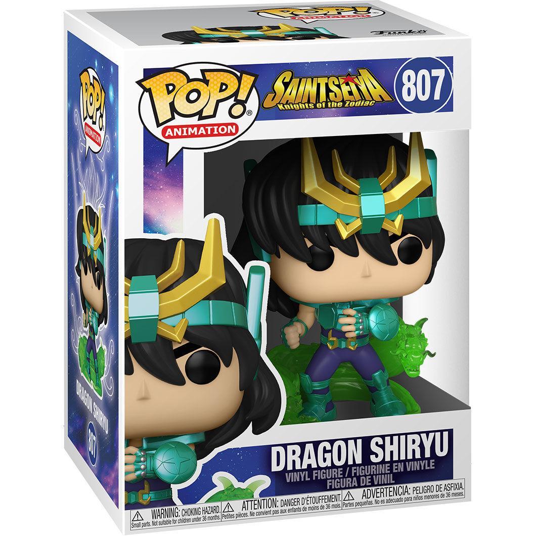 Pop dragon shiryu saint seiya chevalier du zodiaque