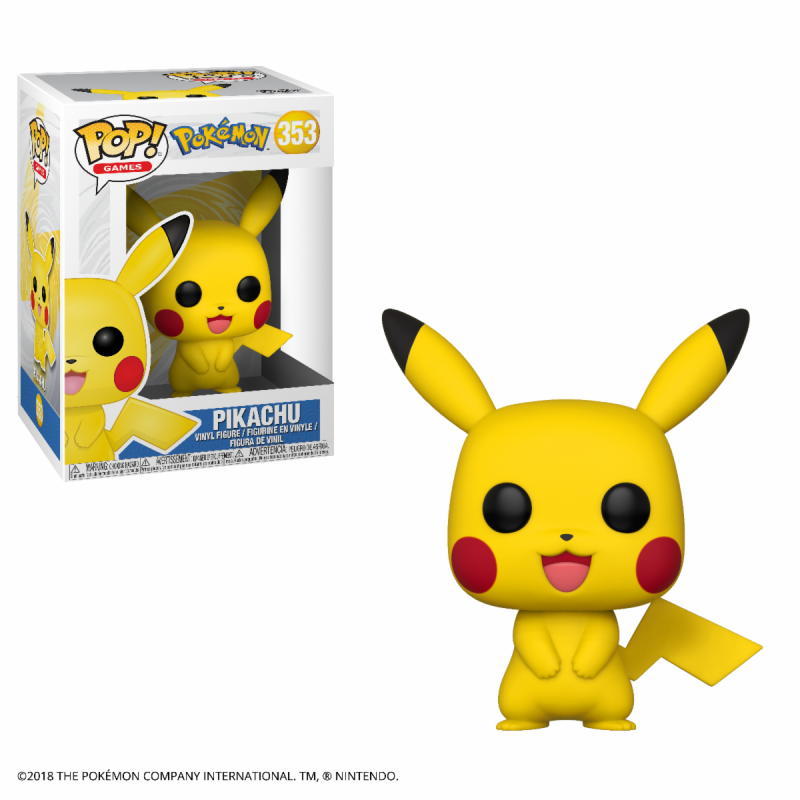 Pop pokemon 353 pikachu