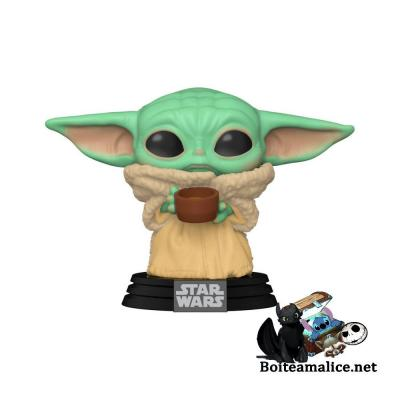 Pop star wars mandalorian the child yoda