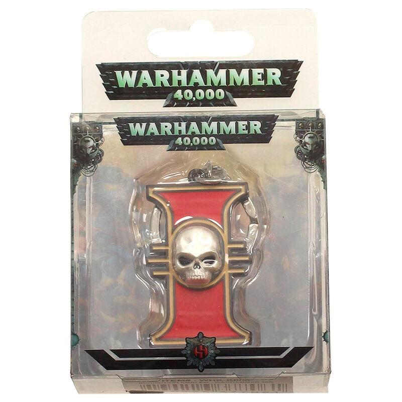 Porte cle embleme inquisition warhammer 40k