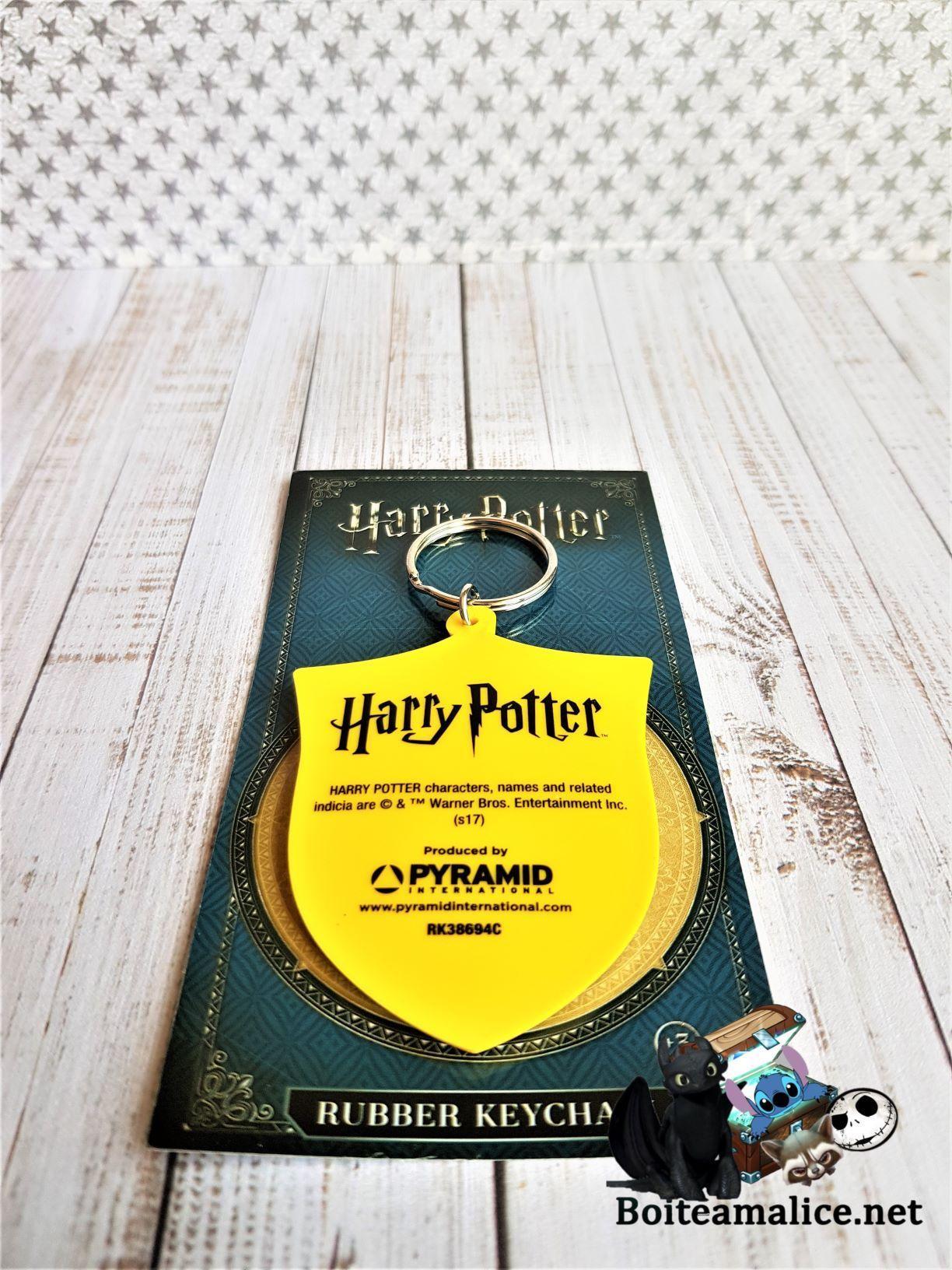 Porte clef harry potter poufsouffle