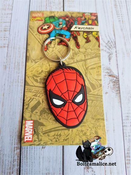 Porte cles spiderman marvel