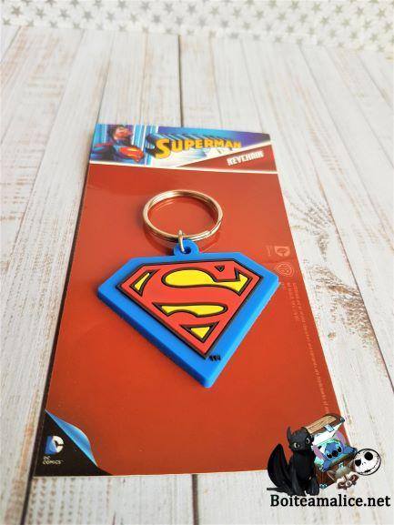 Porte cles superman dc comics