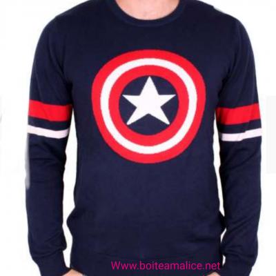 Pull captain america