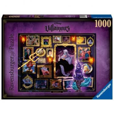 Puzzle 1000 p ursula disney villainous