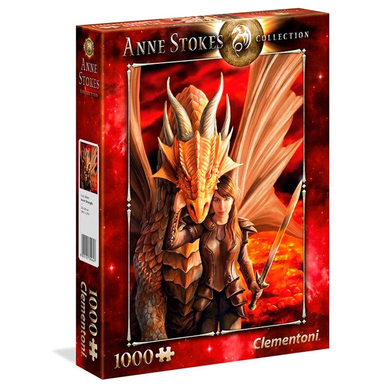 Puzzle 1000 pieces anne stokes inner strenght