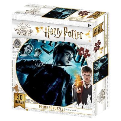 Puzzle 300 pieces harry potter gryffondor prime 3d