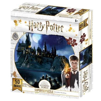 Puzzle 300 pieces hogwarts prime 3d harry potter