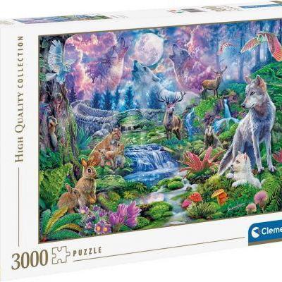 Puzzle clementoni animaux de 3000 pieces 500x400