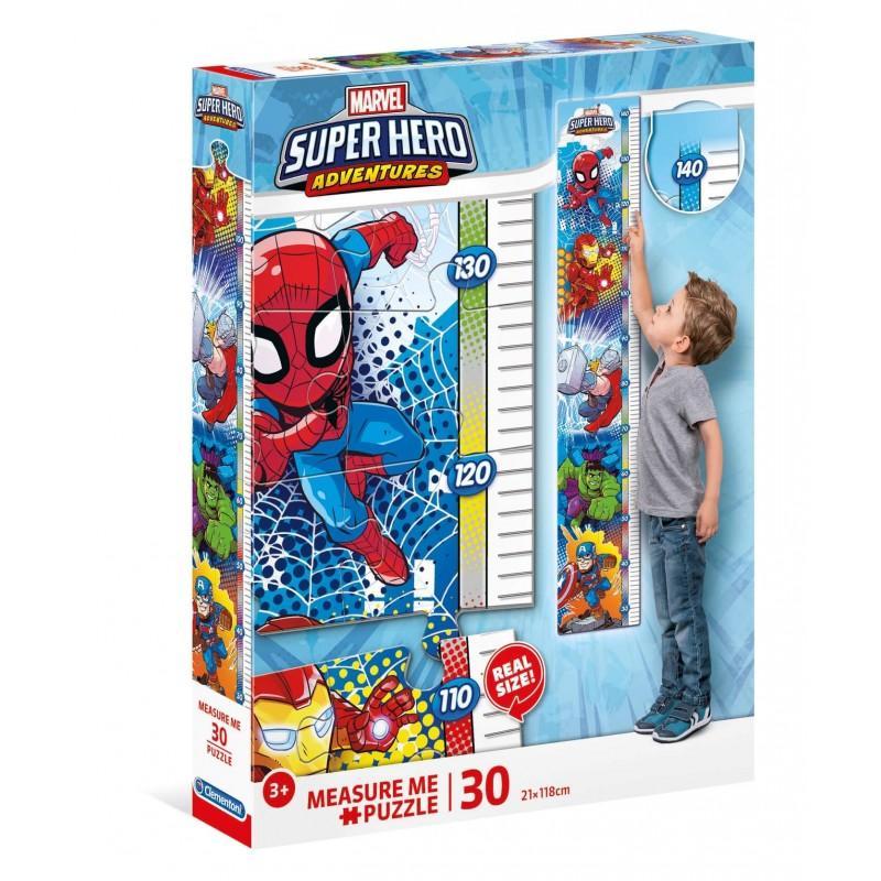 Puzzle clementoni metre super heros marvel 30 pieces