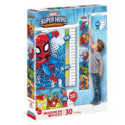Puzzle clementoni metre super heros marvel 30 pieces