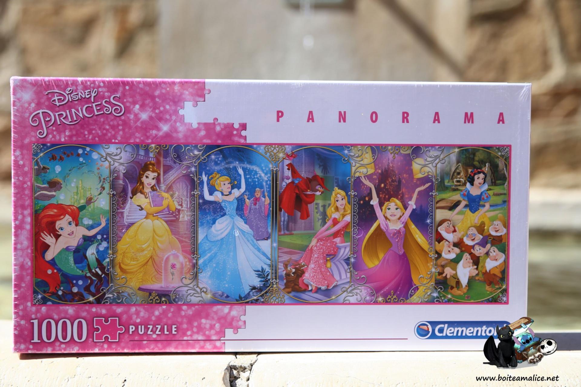 Puzzle disney 1000 pieces princesses disney
