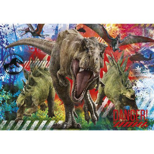 Puzzle enfant dinosaure jurassic world
