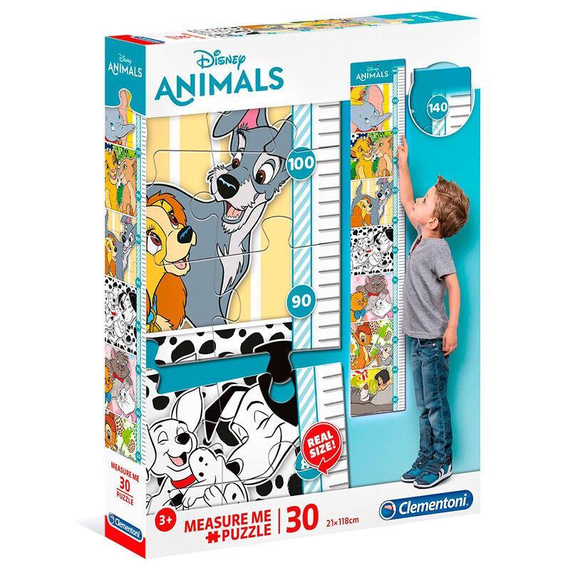 Puzzle enfant les animaux disney mesurez moi