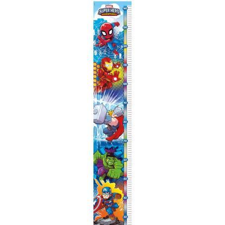 Puzzle enfant marvel super hero metre a mesurer