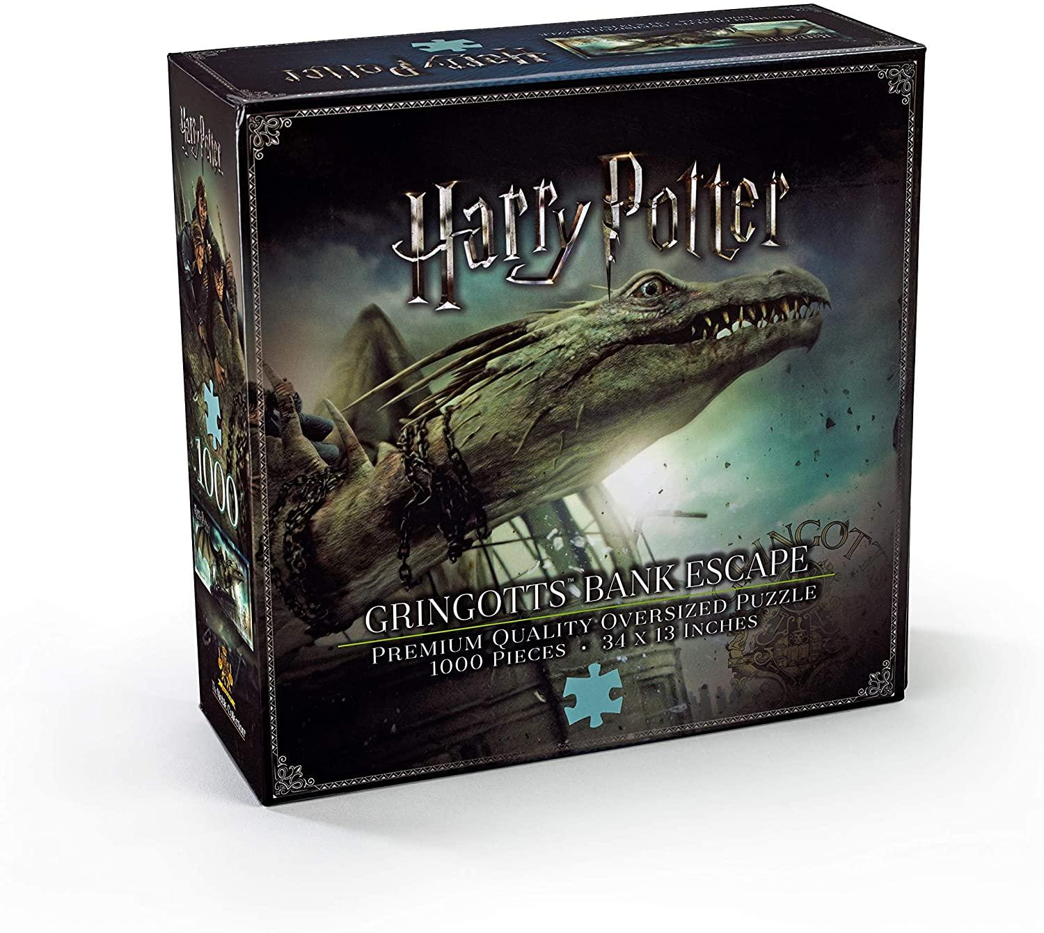 Puzzle harry escape bank gringotts