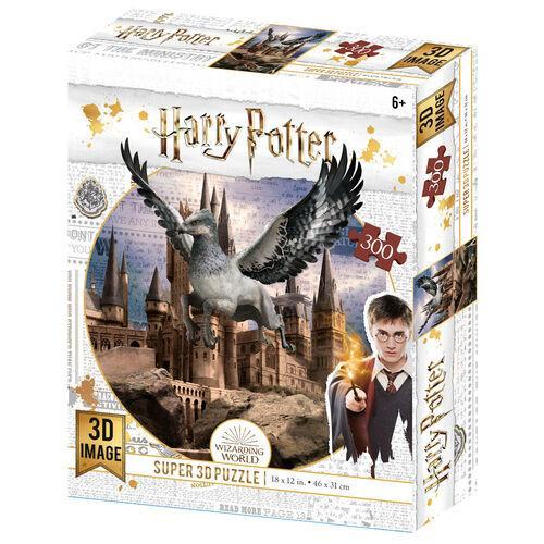 Puzzle harry potter 3d buck
