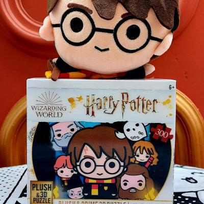Puzzle harry potter 3d peluche harry