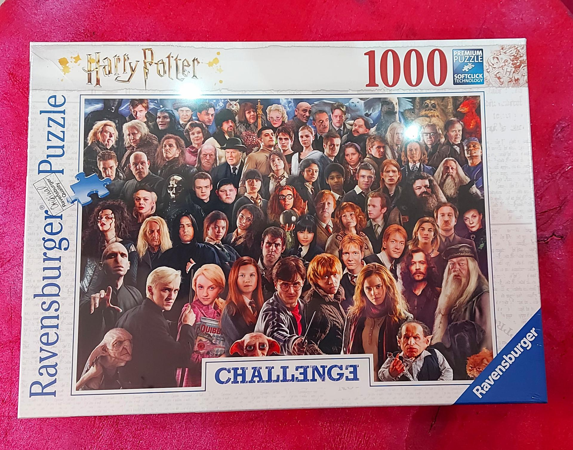 Puzzle harry potter chalenge