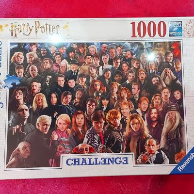 Puzzle harry potter chalenge