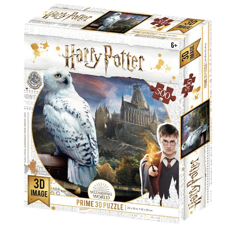 Puzzle hedwige 3d harry potter 500 pieces
