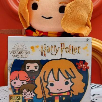 Puzzle hermione 3d et peluche
