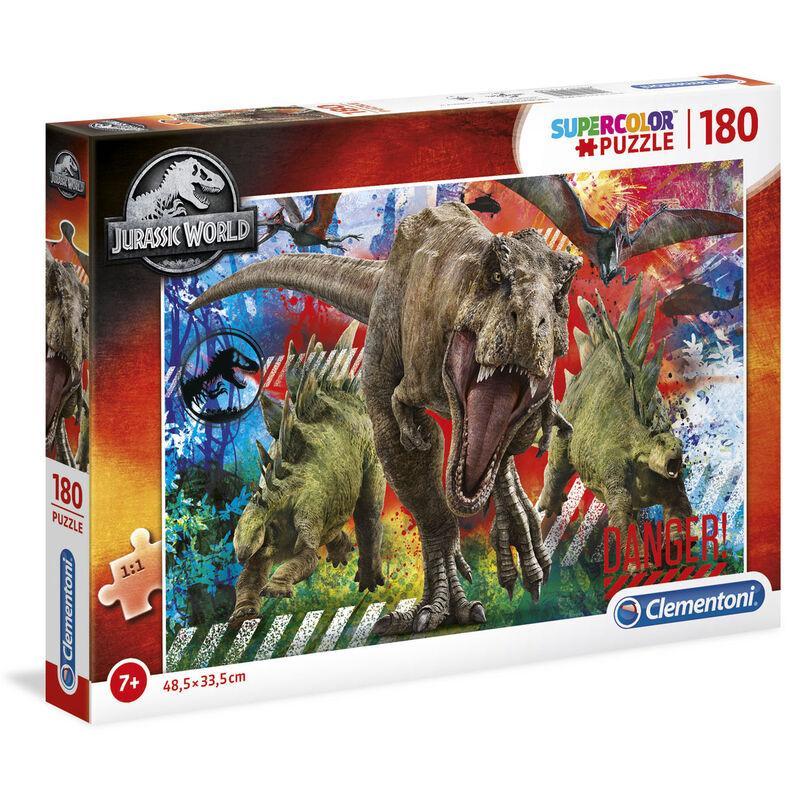 Puzzle jurassic world dinosaure