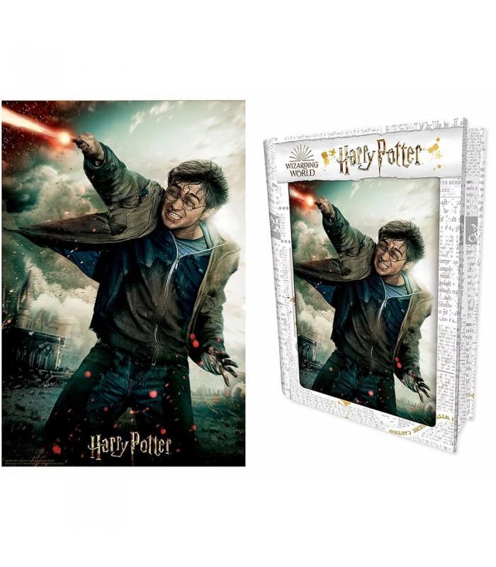 Puzzle lenticulaire 3d harry potter