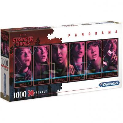Puzzle panorama stranger things 1000 pieces