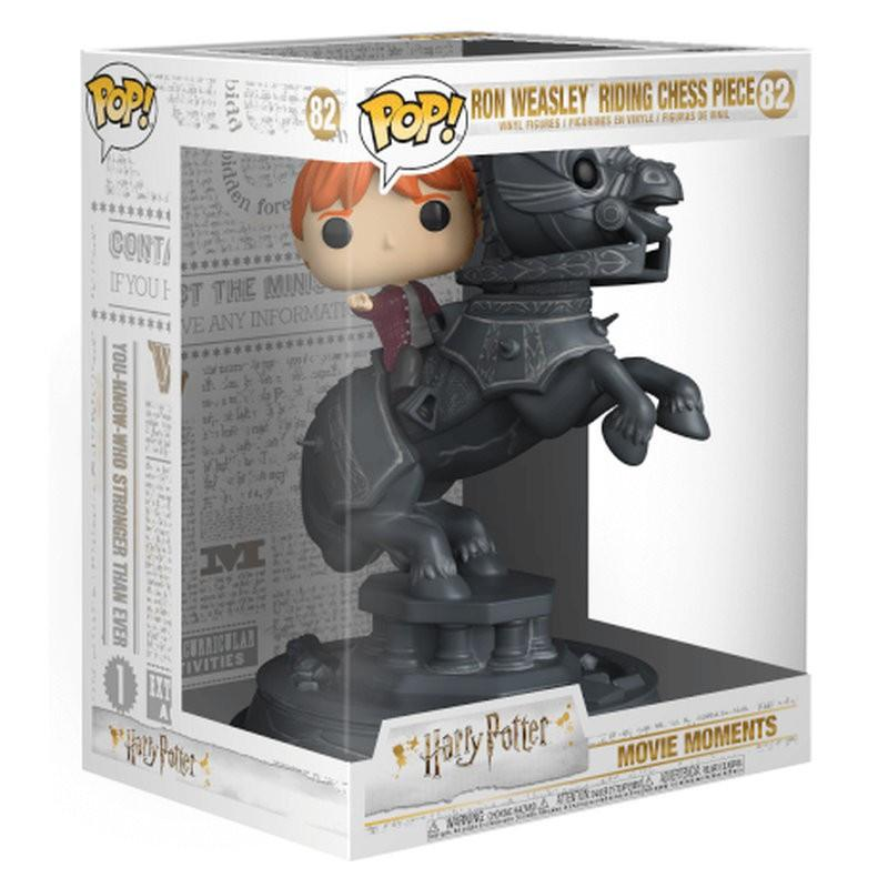 Ron weasley ridding chess piece harry potter movie moments funko pop 2
