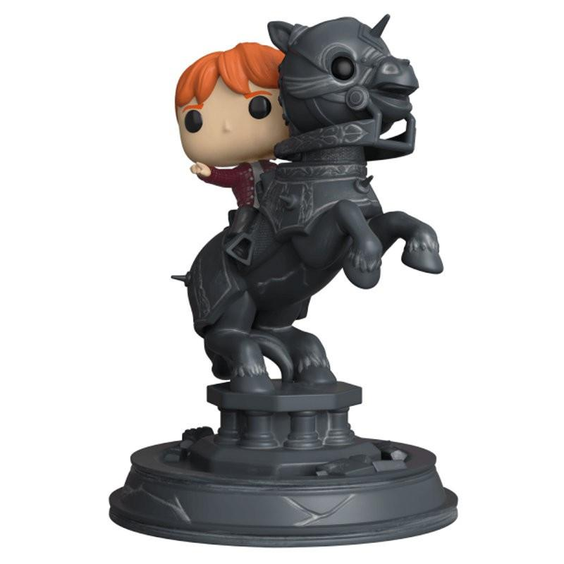 Ron weasley ridding chess piece harry potter movie moments funko pop