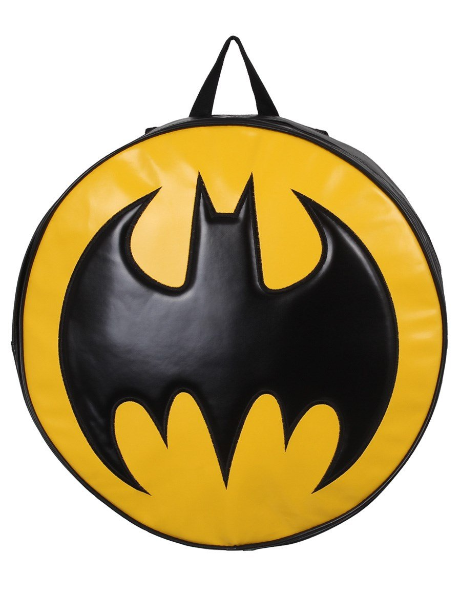 Sac a dos batman logo rond 1