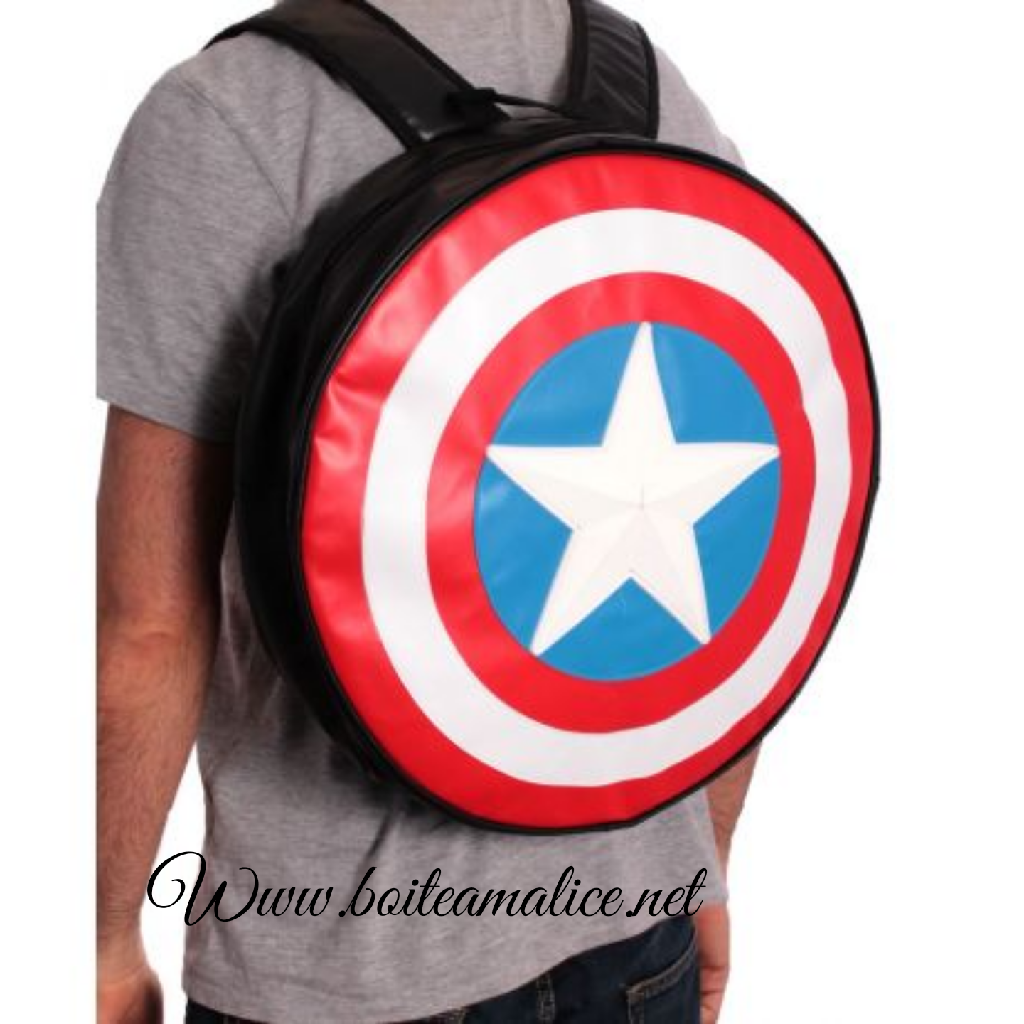 Sac a dos captain america marvel