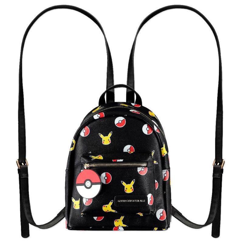 Sac a dos pikachu pokeball difuzed