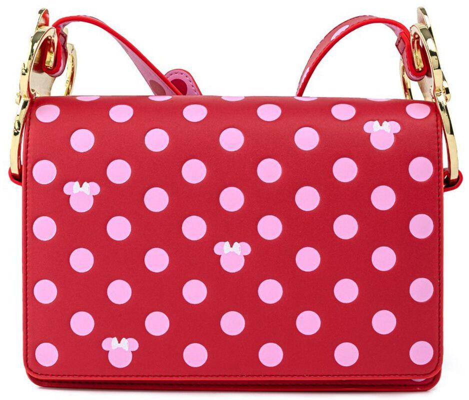 Sac a main loungefly mickey mouse pink polka dot