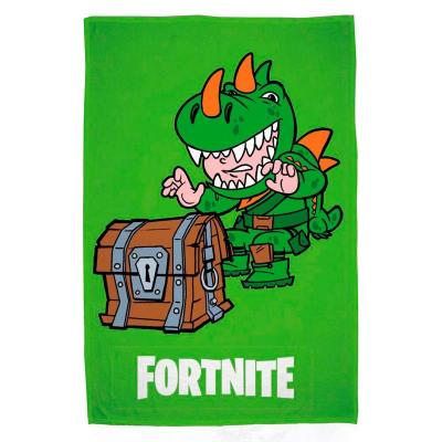 Serviette de plage fortnite dino